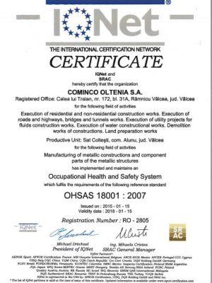 OHSAS 18001_IQ-certificat
